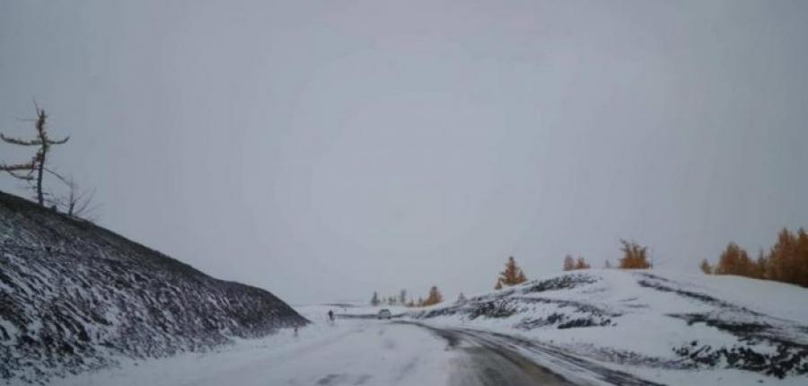 Зүүн аймгуудын нутгийн хойд хэсгээр цас орж, цасан шуурга шуурна