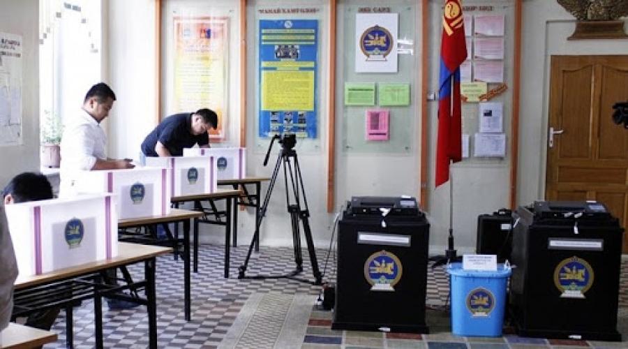 Сүхбаатар аймгийн сонгогчид санал өгсөн ирцээрээ тэргүүлж байна