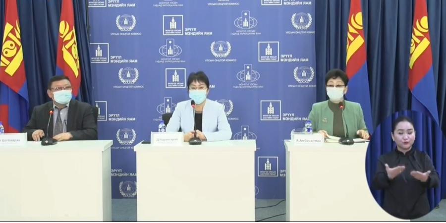 А.Амбасэлмаа: Гурван хүний шинжилгээнээс коронавирус илэрсэн