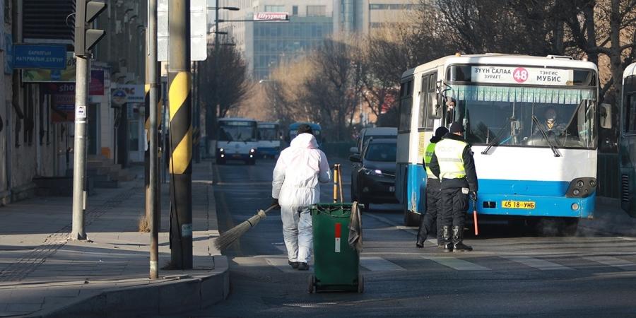 Өчигдөр нийтийн тээврээр 44957 хүн зорчжээ