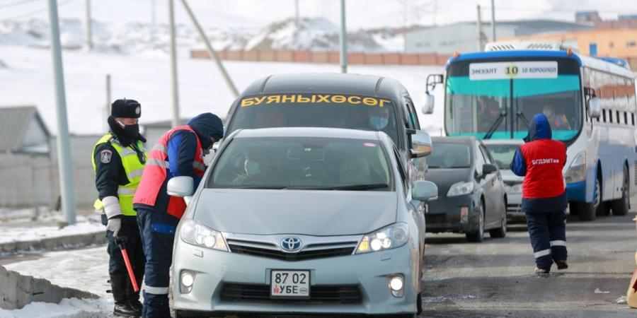 Зам тээврийн хөдөлгөөний хяналтыг 317 цэгт 641 алба хаагч хоёр ээлжээр хянаж байна