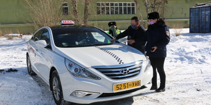 Такси үйлчилгээний 10 аж ахуй нэгжийн 503 тээврийн хэрэгсэл үйлчилгээнд гарна