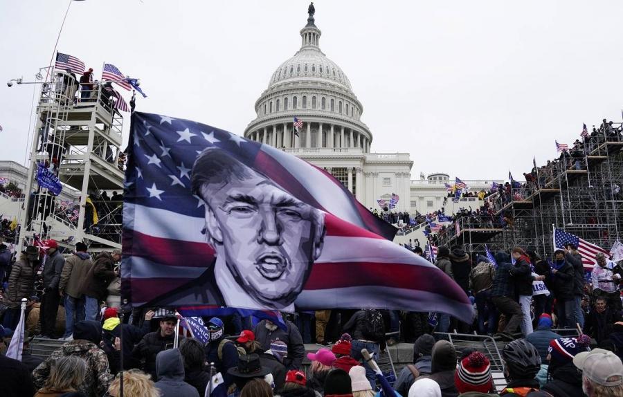 АНУ-ын Капитолид гарсан үймээн