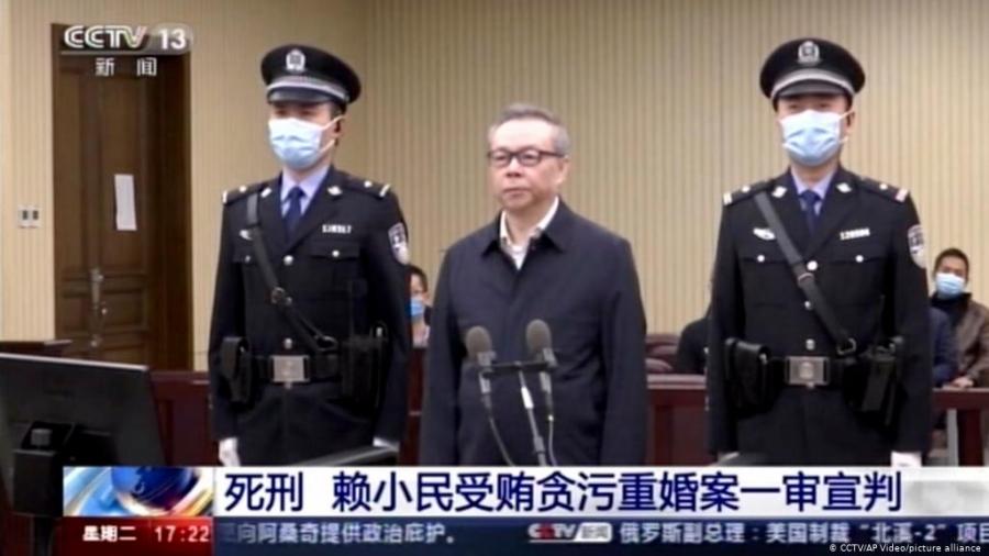 Хятадын банкир асан авлига, хээл хахуулийн хэрэгт холбогдож цаазаар авах ял сонсов