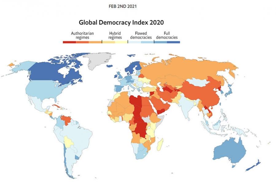 The Economist: Монголын ардчилал алдаатай