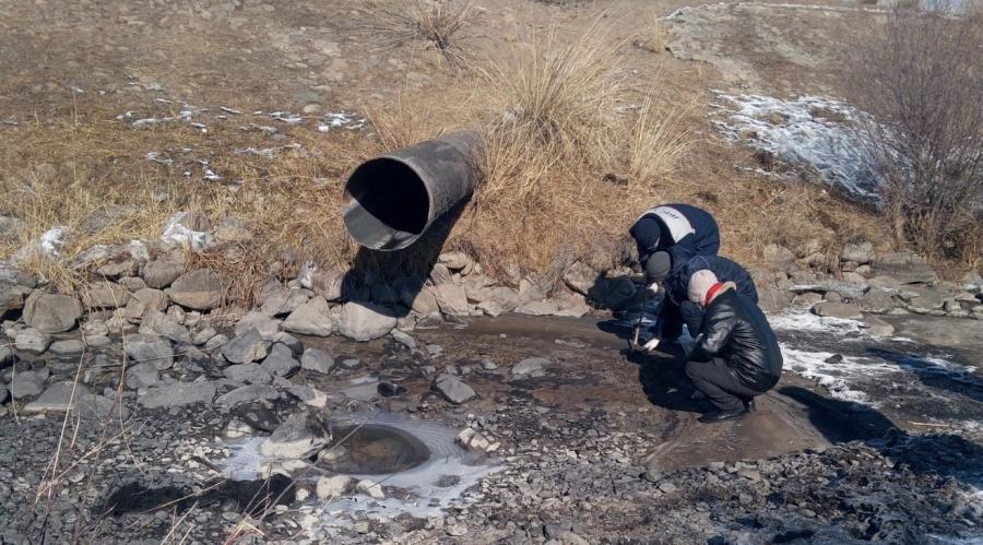 Зөвшөөрөлгүйгээр их хэмжээний тунгаагдсан усыг Туул голын сав газар руу зайлуулсан нь тогтоогдсон