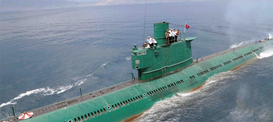 Хойд Солонгосыг шинэ шумбагч хөлөг барьж дууссан гэжээ