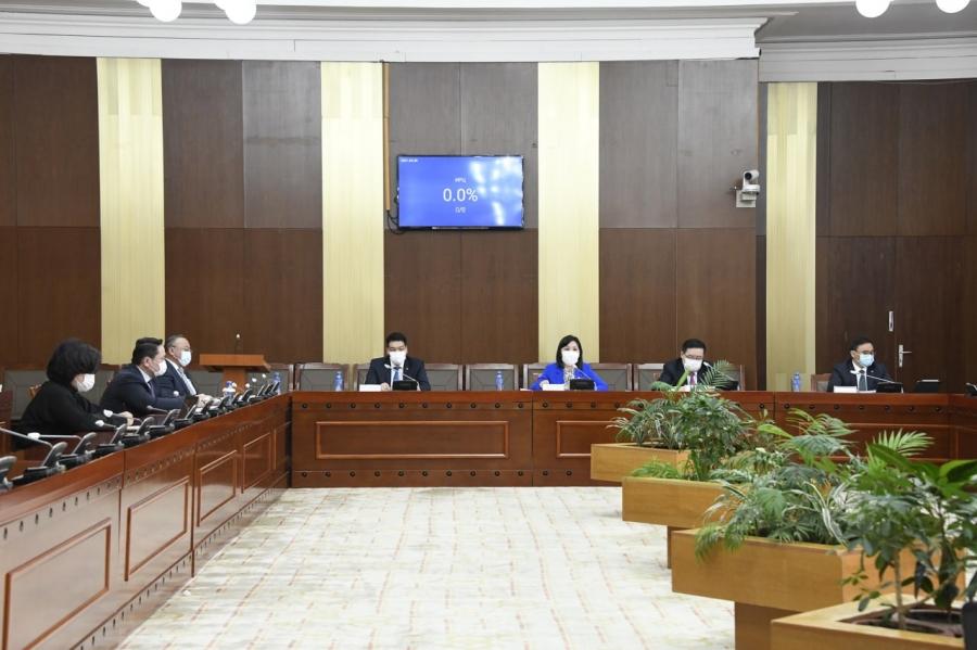 НББХ эрхлэх асуудлын хүрээнд 26 хуулийн төслийг хэлэлцүүлэн, батлуулав
