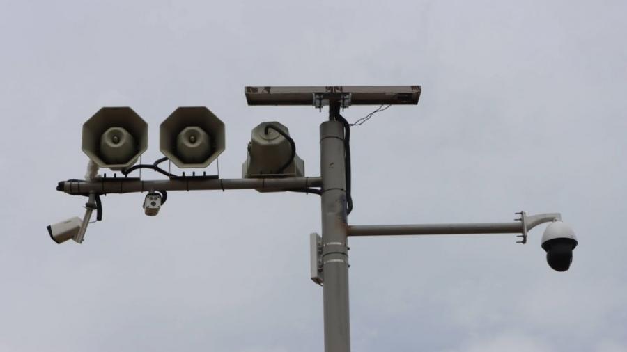 Зарлан мэдээллийн дуут дохио бүхий хяналтын камерыг байршууллаа