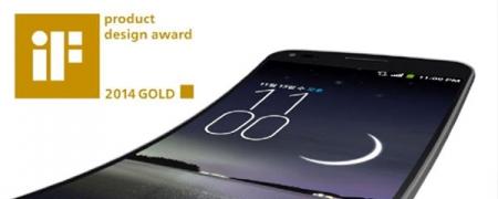 IF DESIGN 2014-арга хэмжээнээс LG G FLEX алтан медаль хүртлээ