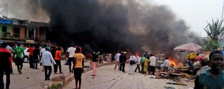 Нигери улсад болсон дэлбэрэлтийн улмаас 118 хүн амиа алдлаа