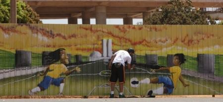 """FIFA WORLD CUP 2014"" Бразил дахь граффитууд"