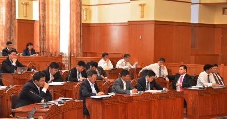 Ирэх долоо хоногт парламентаар хэлэлцэх асуудлууд