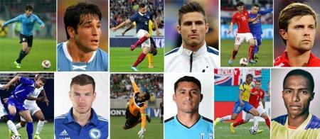 Хамгийн халуухан 30 хөлбөмбөгчин