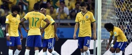 Бразилчууд түүхэн дэх хамгийн гутамшигт ялагдлаа хүлээлээ