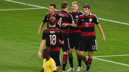 Германчууд  ДАШТ-ээр хамгийн олон гоол оруулсан баг боллоо