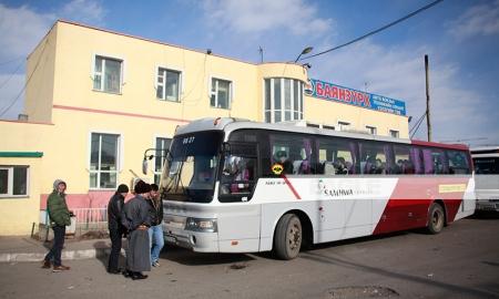 Орон нутгийн чиглэлийн нийтийн тээврийн үйлчилгээнд хяналт тавьж байна