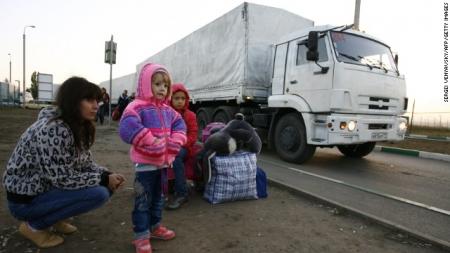 Хоёр дахь тусламжийн цуваа хилийн шалгалтгүй Украйнд нэвтэрлээ
