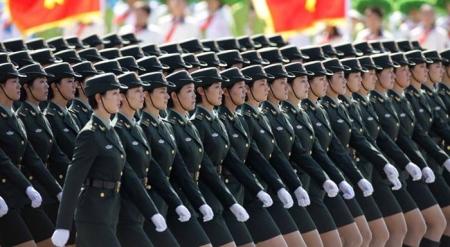 Хятадын цэргийн жагсаал