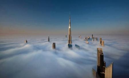 Үүлэн дундах Дубай