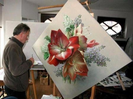 """Pieter Wagemans """"Цэцгэн бүтээл"""""""