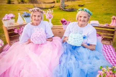 Ихрүүдийн 100 насны төрсөн өдөрт зориулсан зураг авалт