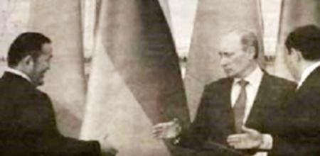 """Ноён ЭВЛҮҮЛЭГ. В.Путиныг Монголд """"ашиглаж"""" байна"""