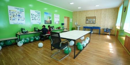 ХААН Банк Сангаас Нийслэлийн 25-р сургуулийн технологийн кабинетийг  иж бүрэн засварлан хүлээлгэн өглөө
