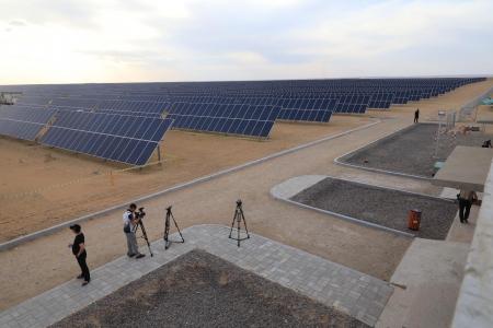 Жилд 32 сая кВтц эрчим хүч үйлдвэрлэх нарны цахилгаан станц ашиглалтад орлоо