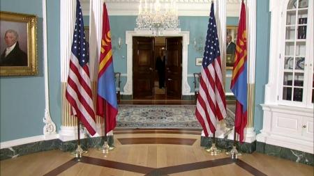 Өргөтгөсөн иж бүрэн түншлэлийн талаар Монгол, АНУ хамтарсан мэдэгдэл гаргав