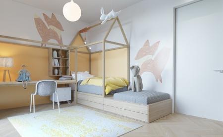 ФОТО: Хүүхдийн өрөөг тохижуулах санаанууд