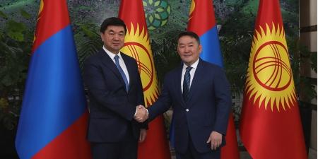 Монгол Улсын Ерөнхийлөгч Х.Баттулгад Бүгд Найрамдах Киргиз улсын Ерөнхий сайд М.Д.Абылгазиев бараалхлаа