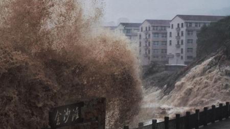 """""""Лекима"""" Хятад Улсын түүхэнд гурав дахь хүчтэй хар салхинд тооцогдож байна"""