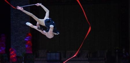 Уран сайхны гимнастикийн тамирчид ДАШТ-нд оролцож байна