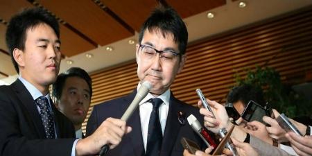 Японы Хууль зүйн сайд огцорлоо