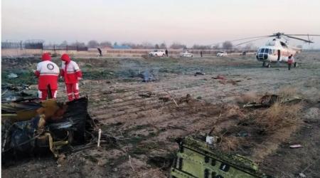 Украины онгоцны хар хайрцагны бичлэг олдсон гэжээ