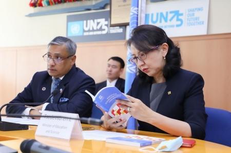 Монгол Улсын боловсролын бодлогын тойм шинжилгээний тайланг танилцууллаа