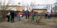 Нийтийн эзэмшлийн гудамж талбайн цэвэрлэгээ эхэллээ