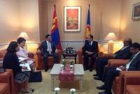 Монгол Улс АСЕАН-ы яриа хэлэлцээний түнш болох хүсэлтээ илэрхийлэв