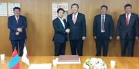 Д.Батцогт тэргүүтэй төлөөлөгчдийг Ясүхиса Шиозаки хүлээн авч уулзав