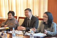 Байнгын хорооны дарга М.Сономпил БНИУ-ын Төлөөлөгчдийн танхимын гишүүдийг хүлээн авч уулзлаа