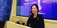 Жүжигчин А.Мөнгөнзул Москвагийн кино наадмын үеэр илтгэл тавьжээ