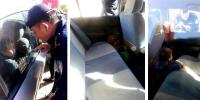 Зуны халуунд машиндаа хүүхдээ орхив оо