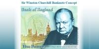 У.Черчиллийн хөргийг мөнгөн дэвсгэртэд мөнхөлнө