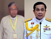 Ерөнхийлөгч Ц.Элбэгдорж Мьянмар Улсын Ерөнхийлөгч, Тайланд Улсын Ерөнхий сайд нартай уулзлаа