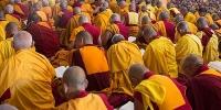 Чингисийн талбайд 500 лам ном хурна