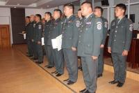 АСЕМ-ын арын албанд ажилласан цэргийнхэнд талархал ирүүллээ