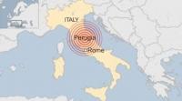 Италийн төв хэсэгт газар хөдөллөө