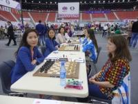 Шатрын олимпиад: Эмэгтэй баг Казакстаныг хожлоо