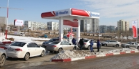 """""""Юнигаз"""" ХХК Дархан хотод автомашин хийгээр цэнэглэх станц шинээр нээлээ"""